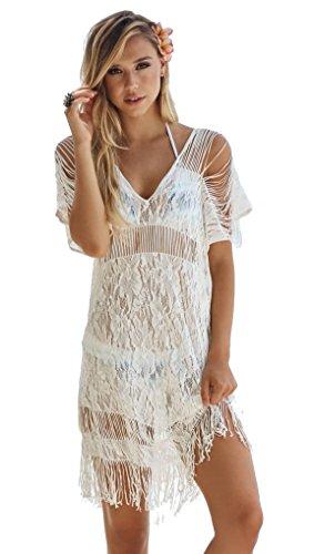 Beach-Bunny-Indian-Summer-Lace-Fringe-Dress-White