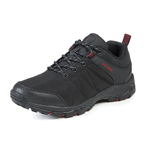 KuBua Mens Hiking Shoes Trekking Outdoor Sports Indoor Casual Fashion Sneakers Running Shoes Brown Blue