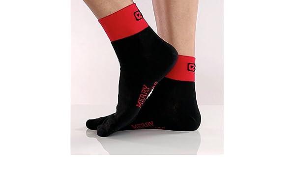 Eigo Thermolite calcetines de Papá Noel negro/rojo: Amazon.es: Deportes y aire libre