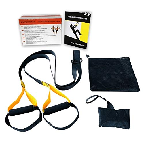 SANDAO Cinturón de entrenamiento de suspensión de tensión, cinturón de resistencia, cuerda para tirar de yoga, cinturón...