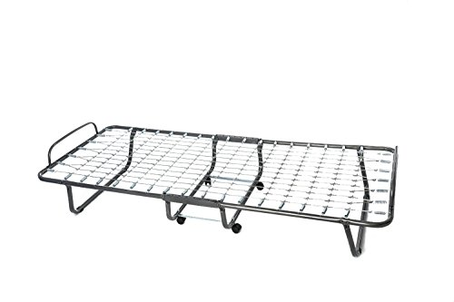 Milliard Lightweight 74 by 31-Inch Folding Cot/Bed with Mattress (Mattress Color May...