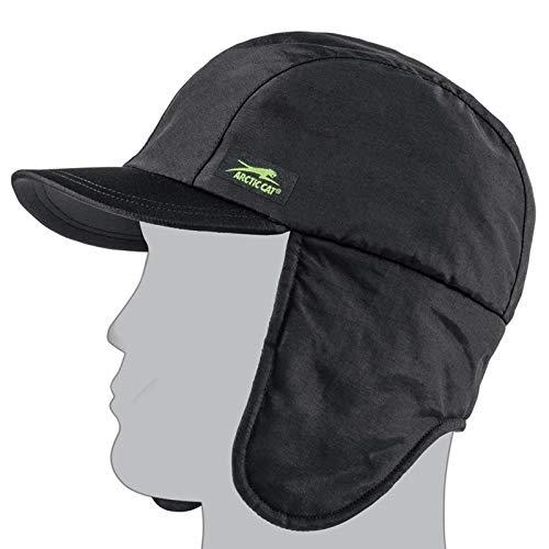 Arctic Cat Unisex Adult Beanies & Knit Hats (Black, One ()