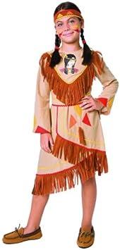 Jumca Sprl - Disfraz de india para niña (de 4/6): Amazon.es ...