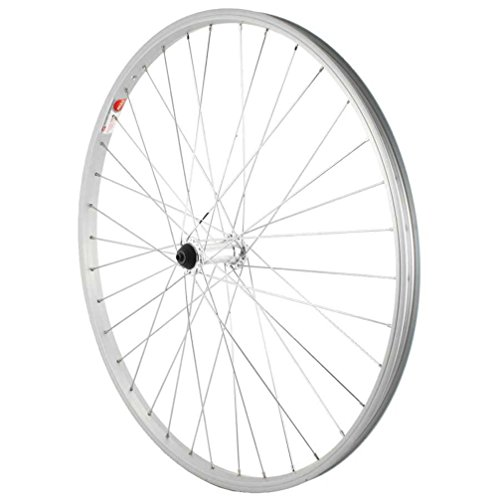 Sta-Tru Silver Alloy ATB Hub Quick Release Front Wheel (26X1.5-Inch) by Sta Tru