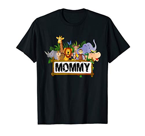 Mommy: Zoo Birthday Shirt Family Costume Party -