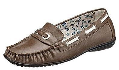 separation shoes ed3e0 df259 Mokassin Slipper für die Dame von City Walk in Braun used Gr ...