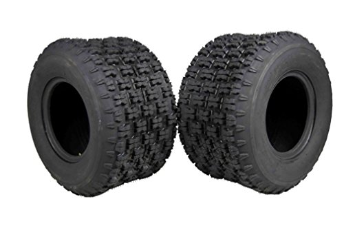 MASSFX 20'' Rear ATV Tire Set 20x11-9 Tire 4 PLY 20x11x9 MO20119 2 Pack by MASSFX
