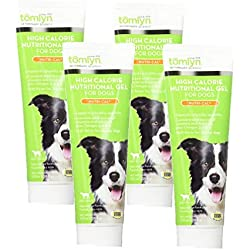 TOMLYN 4 Pack of High Calorie Nutritional Gel for Dogs, 4.2 Ounces Each
