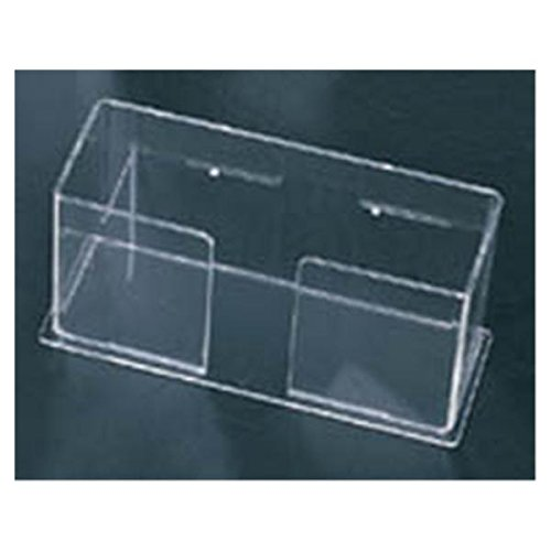 WP000-1206 1206 C-Fold Towel Holder Clear Quantity of 1 unit From Plasdent Corp. -# 1206 by Plasdent Corp.