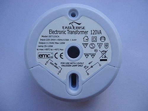 EAGLERISE SET120CK ELECTRONIC TRANSFORMER - FREE UK P+P!! - 3 YEAR GUARANTEE!!