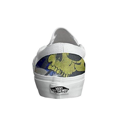 Vans personalizzate Unisex (Prodotto Artigianale) Skull