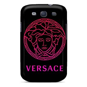 Galaxy S3 Hard Back With Bumper Silicone Gel Tpu Case Cover Versace Gradient