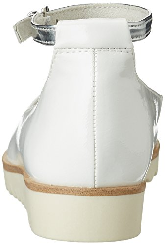 Marco Tozzi 2-2-24215-28 514, Bailarinas Mujer Blanco (White Comb 197)