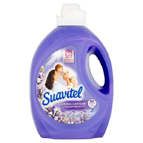 Suavitel Soothing Lavender Liquid Fabric Conditioiner, 135 fl oz ()