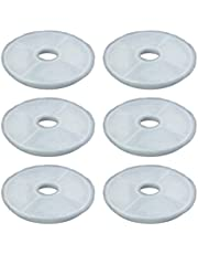 Filters for Catit Design Senses Fountains and Catit Flower Fountains, Pack of 6