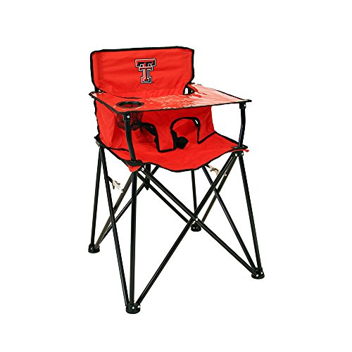 Rivalry Distributing RIV-RV400-1700 Texas Tech Red Raiders NCAA Ultimate Travel Child High (Ultimate Tailgate Chair)
