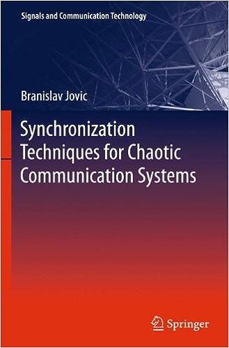 Descargar Libro Origen Synchronization Techniques For Chaotic Communication Systems De PDF A PDF