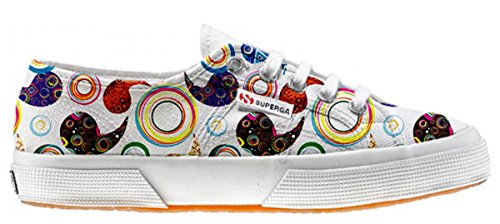 Superga Customized zapatos personalizados Happy Paisley (Zapatos Artesano)