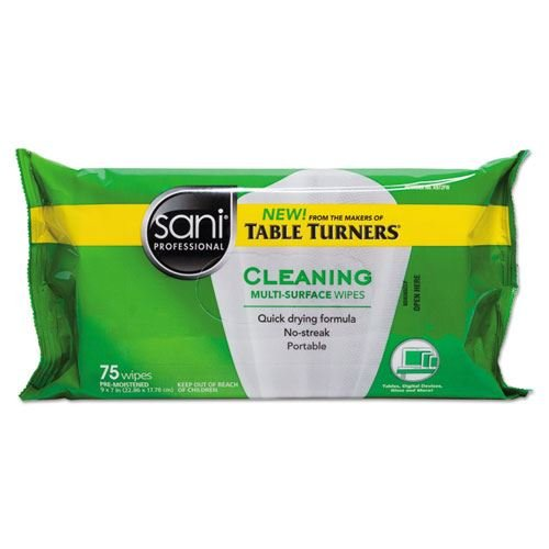 Multi-Surface Cleaning Wipes 7 X 9 White Citrus Scent 75/pack 20 By Sani Professional by Sani Professional (Image #1)