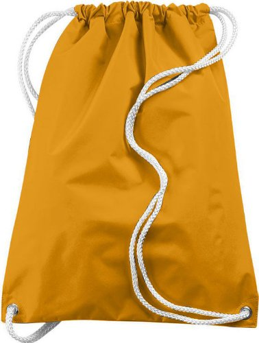 Augusta Sportswear LARGE DRAWSTRING BACKPACK OS Gold Review
