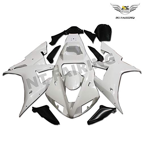 - Unpainted Fairing Fit for YAMAHA 2002 2003 YZF R1 Injection Mold ABS Plastics Motorcycle Aftermarket Bodywork Bodyframe 02 03