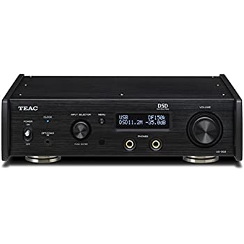 Teac UD-503-B Dual-Monaural USB DAC with Headphone Amplifier Black