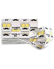 VIDARE - Paquete 10 Cubrebocas Estampados Adulto Termosellado 3 Capas -P