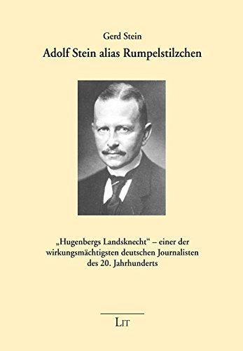 Adolf Stein alias Rumpelstilzchen:
