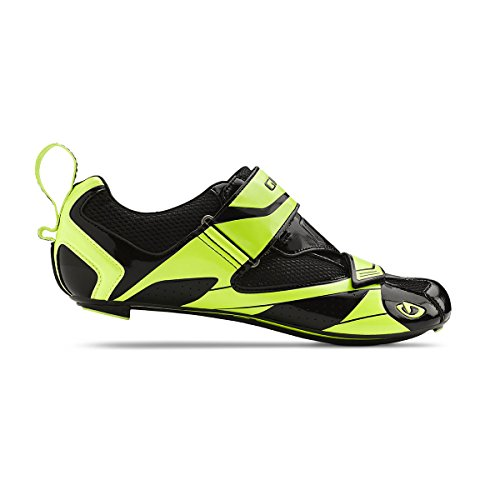 Giro Mele Tri Schuhe Men black/highlight yellow Größe 46 2015 Mountainbike-Schuhe