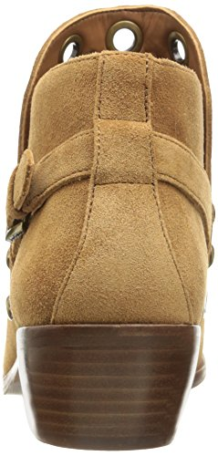 Sam Ankle Suede Edelman Saddle Women's Bootie Pedra rqtwrxa7AH