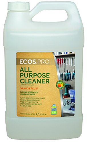 - Earth Friendly Products Proline PL9706/04 Orange Plus RTU All-Purpose Cleaner-Degreaser, 1 gallon Bottles (Case of 4)
