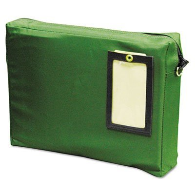 Expandable Dark Green Transit Sack, 14w x 11h x 3d, Sold as 1 Each by MMF Industries