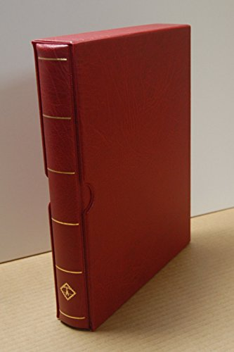- Lighthouse Vario-F Sheet Binder and Slipcase in Red