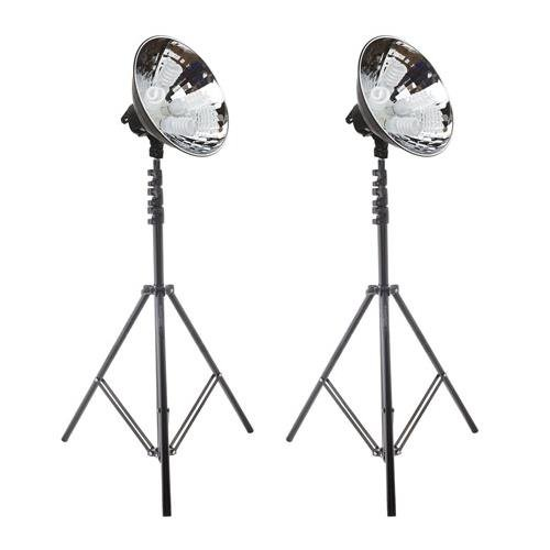 Flashpoint FPCL4K2 Cool Light Bundle with 2 Reflectors by Flashpoint