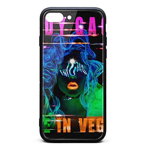 Phone case for iPhone 7 Plus/8 Plus Fashion Shock Absorption TPC Tempered Glass Revel dad Art Cover -