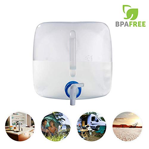 90 Points 1 25 Gallon 5L 2 5 Gallon 10L 5 Gallon 20L Collapsible Bpa Free Pe Water Container Portable Water Carrier Bag Water Outdoor Storage For Bbq Camping Hiking Climbing Picnic Emergencies