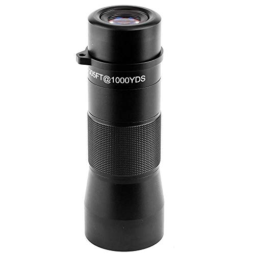 Gosky 10x42 Metal Monocular Telescope, Handy Ultra HD Monocular for Bird Watching Sports Travelling Camping Hiking Hunting and Outdoor Activities (Black) by Gosky (Image #6)