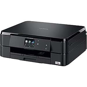 Brother DCP-J562DW - Impresora multifunción de tinta (WiFi, impresión automática a doble cara), color negro