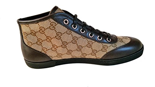 Gucci Womens GG High Top Sneaker Shoes Italy dfZ1tB