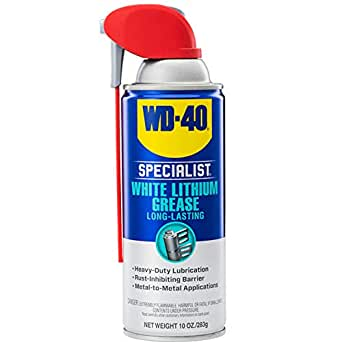WD40 300240 Specialist White Lithium Grease Spray - 10 oz.