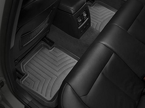 Rear Black WeatherTech 445132 Floor Liner
