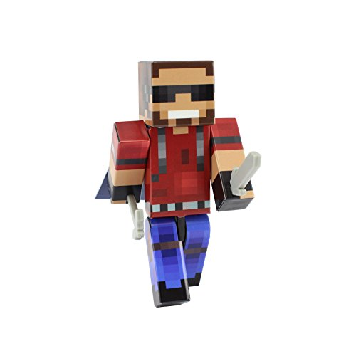 EnderToys Cool Shades Chap Action Figure Toy, 4 Inch Custom Series Figurines
