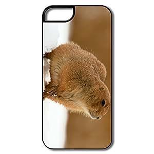 Amazing Design Non-Slip Prairie Dog Snow IPhone 5/5s Case For Her