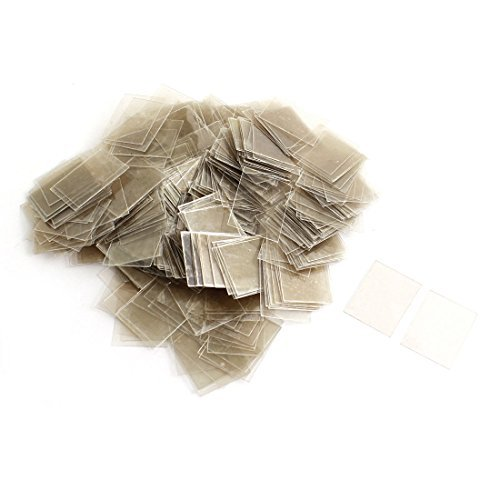 Amazon.com: Papel Mica 500pcs Sheets Insulator 20mmx25mmx0 ...