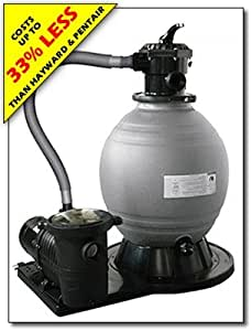 Amazon Com Blue Wave 18 In Sand Filter System With 1 Hp