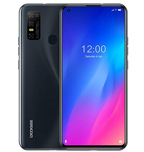 SIM Free Smartphone (4GB RAM +128GB ROM), DOOGEE N30 Unlocked Mobile phone Android 10, 6.55 inch HD+ Perforated Screen…