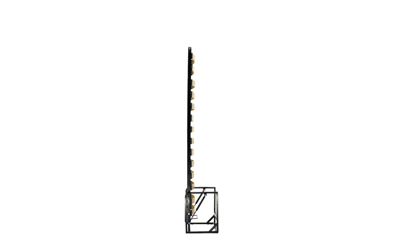 Einzel WANDBETT (Längs) 90cm x 200cm (Klappbett, Schrankbett ...