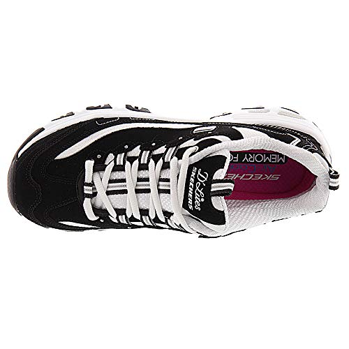 Skechers Para D'lites Negro biggest Fan Zapatillas Mujer UFrSUIqA