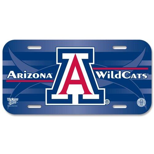 WinCraft NCAA University of Arizona License Plate