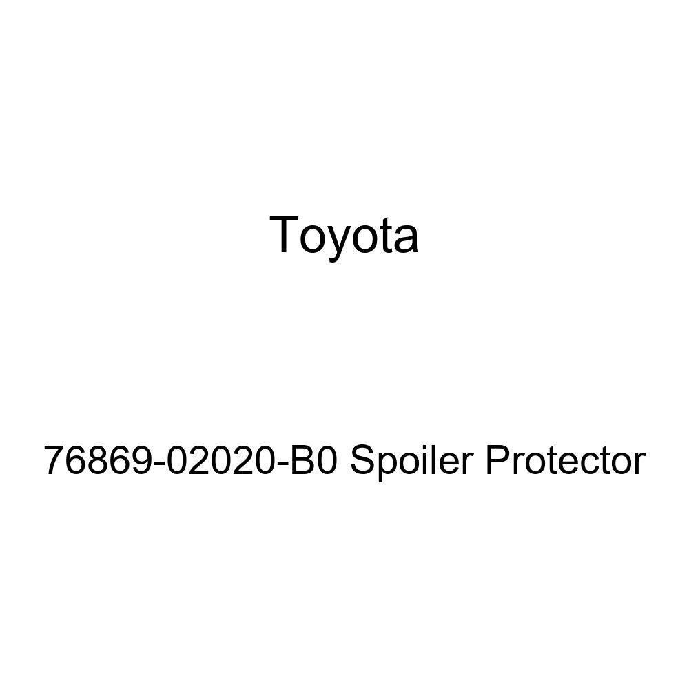 Genuine Toyota 76869-02020-B0 Spoiler Protector
